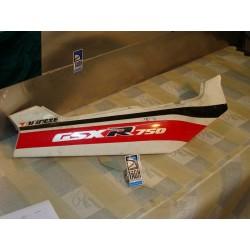 Bajo asiento derecha GSX 750 R 91