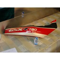 Bajo asiento derecha GSX 750 R 88