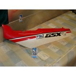 Bajo asiento izquierda GSX 750 R 88