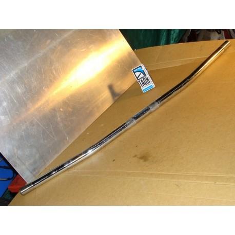 Manillar custom plano Ø25'4 mms con contrapesos