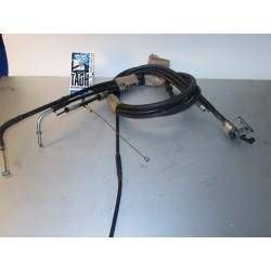 Cable gas y embrague ZZR 600 91