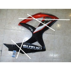 Lateral medio derecho GSX 600 / 750 R 08