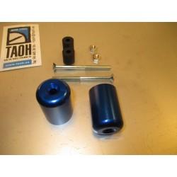 Pesos aluminio Honda. Azul