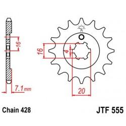 Piñón 14 Dientes JTF 555.14