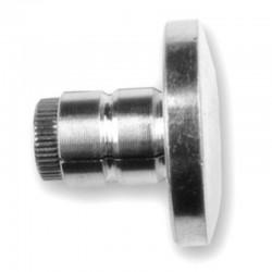 Pesos manillar aluminio Ø11'5mms plata