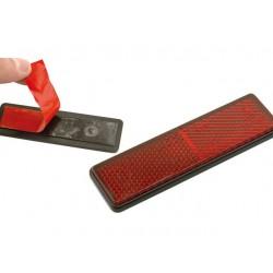 Catadioptrico rectangular con adhesivo 91x25mm homologado