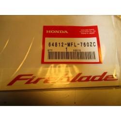 "Adhesivo ""Fireblade"" Honda"