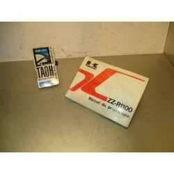 Manual del propietario ZZR 1100 93