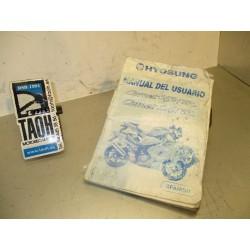 Manual del propietario Comet 125 / 250 R