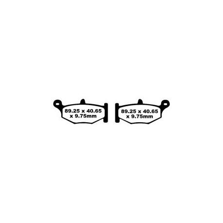 Pastillas de freno EBC FA419HH