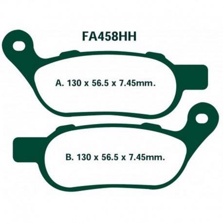 Pastillas de freno EBC FA458HH