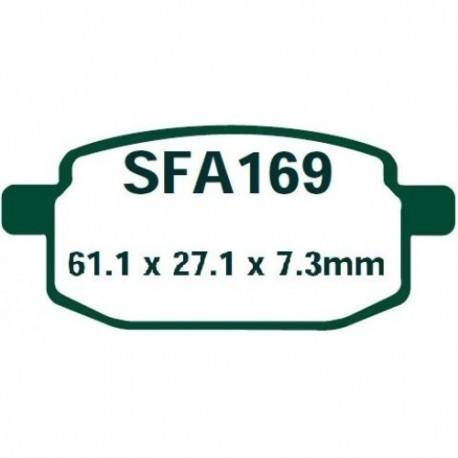 Pastillas de freno EBC SFA169