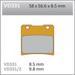 Pastillas de freno Vesrah VD-331RQ